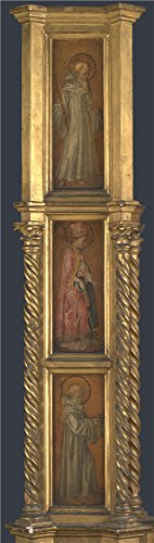 [The High Quality Polyster Canvas Of Oil Painting 'Jacopo Di Antonio (Master Of Pratovecchio) Left Pilaster Of An Altarpiece ' ,size: 12 X 42 Inch / 30 X 108 Cm ,this Cheap But High Quality Art Decorative Art Decorative Canvas Prints Is Fit For Kids Room Gallery Art And Home Decoration And] (Frank The Bunny Costume High Quality)
