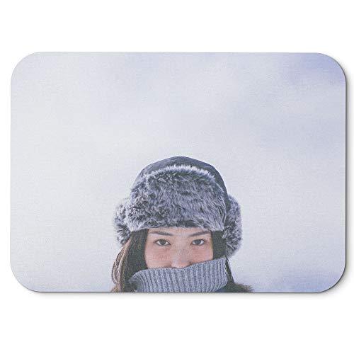 Cap Headgear Denim (Westlake Art - Hat Woman - Mouse Pad - Non-Slip Rubber Picture Photography Home Office Computer Laptop PC Mac - 8x9 inch (D41D8))