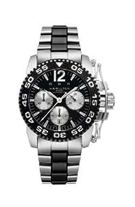 Hamilton h63516135–Reloj de pulsera de hombre, correa de acero inoxidable multicolor