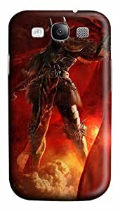 3D Angry Soldiers Custom Polycarbonate Hard Case Cover for Samsung Galaxy S3 SIII I9300