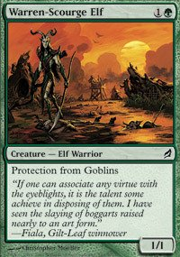 Magic: the Gathering - Warren-Scourge Elf - Lorwyn - Foil
