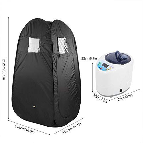 POEO Sauna Steam, Portable Home Spa Steam Sauna Tent, Mini Sauna Comfort 1000 W