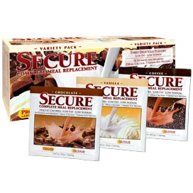 Secure Soy Complete Meal Replacement - Variety Pack