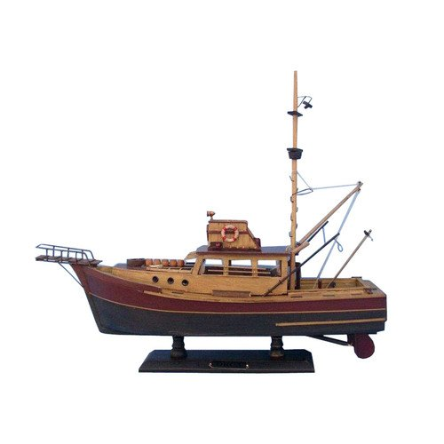 Handcrafted Model Ships Jaws - Orca Model Ship