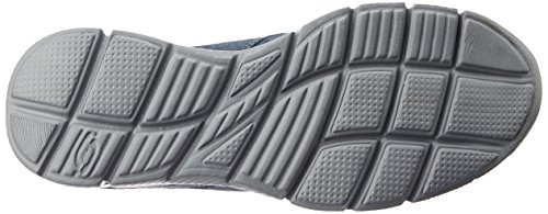 Skechers Equalizer- Mind Game, Scarpe Sportive Uomo Blu (Nvy)