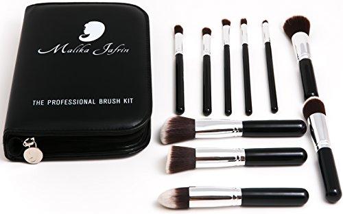 Kabuki Brush - Makeup Brushes For Face & Eyeshadow - Make up Brush For Foundation Concealer Contour Blush Highlight Buffing Blend - Cosmetic Brushes For Powder Liquid Cream - Soft ()