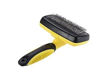 Casa Cepillo de limpieza práctico para mascotas Cepillo de cepillado para eliminar el cabello Herramientas para gatos ...