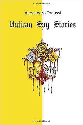 Watican Spy Stories Italian Edition Tonussi Alessandro