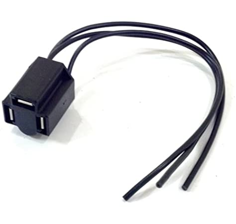 Amazon.com: The Stop Shop Front Headlight Wiring Harness Connector Plug, 3  Prong: Home & KitchenAmazon.com