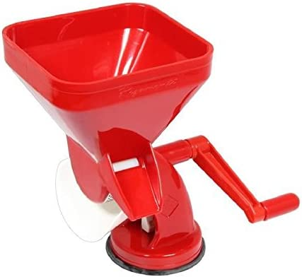 Duhalle 5403 - Máquina para Hacer Zumo de Tomate (plástico), Color Rojo