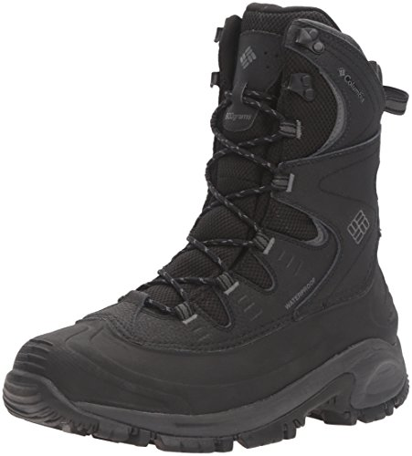 Columbia Men's Bugaboot II XTM Snow Boot, Black, Charcoal, 11 D (600g Boot)