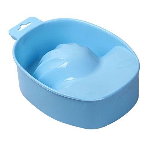 Biutee 2pcs New Acrylic Nail Soaker Bowl Art Tips Soakers Tray Polish Gel Treatment Remover Manicure Off Bowls Tools - Soaker Tray