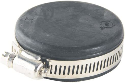 Rubber Jim Cap With Stainless Steel Hose Clamp 4
