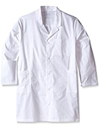 Cherokee Men's Big-Tall Ww Core Stretch 40 Inch Unisex Lab Coat Big and Tall