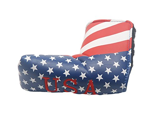 Dark Horse Golf Putter Head Covers Stars and Stripes design Headcover For Scotty Cameron Taylormade Ping Titleist Odyssey Blade