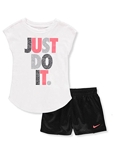 Nike Kids Girls Sets - Nike Girls' 2-Piece Outfit - Black, 6X