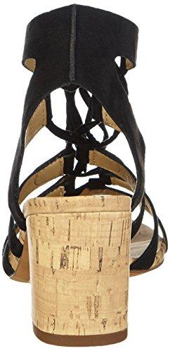 ESPRIT Redy Sandal - Sandalias de tobillo Mujer Negro - negro (001 black)