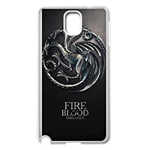 Samsung Galaxy Note 3 Cell Phone Case White Game of Thrones SLI_554484