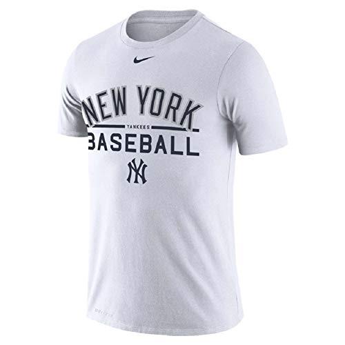 Nike Sleeve Short Mlb Shirt (Nike New York Yankees MLB Arch Log T-Shirt)