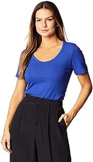 Camiseta Canelada, Forum, Feminino