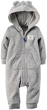 151d4b32dd79 Carter s Baby Boys  Hooded Fleece Jumpsuit (24 Months