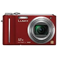 Panasonic Lumix DMC-ZS3 10MP Digital Camera with 12x Wide Angle MEGA Optical Image Stabilized Zoom and 3 inch LCD (Red) Noticeable Review Image
