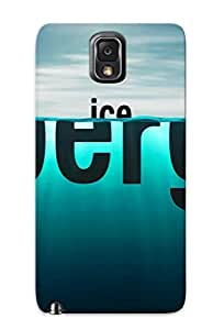 Exultantor Durable Defender Case For Galaxy Note 3 Tpu Cover(iceberg ) Best Gift Choice