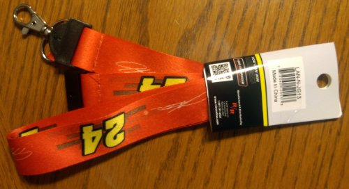 Jeff Gordon Lanyard - Jeff Gordon #24 2-Sided Breakaway Lanyard w/Detachable J-Hook Nascar Racing