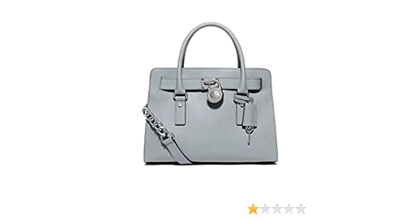 0eec5c0163 Michael Kors Hamilton Large EW Satchel Dusty Blue  Handbags  Amazon.com