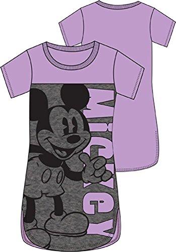 Disney Adult Junior Sleep Shirt Thumbs Up Mickey