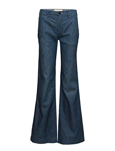 RALPH LAUREN Denim & Supply Alston High-Rise Flared Jeans (27W X 32L, Blue) by RALPH LAUREN