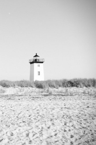 Download Black and White Lighthouse Journal pdf