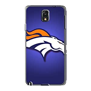 KimberleyBoyes Samsung Galaxy Note 3 Excellent Hard Phone Cover Unique Design Attractive Denver Broncos Pattern [itn4962NOcd]