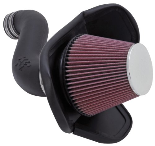 K&N Performance Cold Air Intake Kit 57-1543 with Lifetime Filter for 2005-2010 Dodge Charger/Magnum, Chrysler 300 3.5L V6
