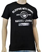 SLEEPING WITH SIRENS - Summer League - Black T-shirt