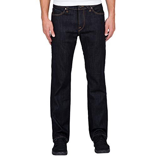 Volcom Men's Kinkade Stretch Denim Jean, Rinse, 34X32