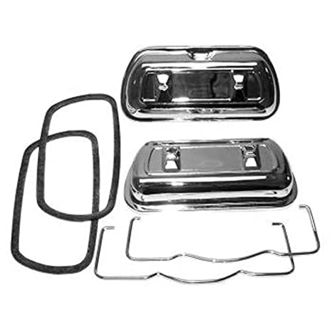 Premium VALVE COVERS Chrome Clip On Fits 1500cc /& Up VW Dunebuggy VW