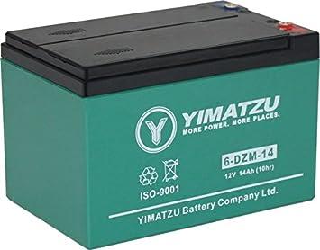 Battery Ev12140 6 Dzm 14 6 Fm 14 Gel Agm 12v 14ah Yimatzu