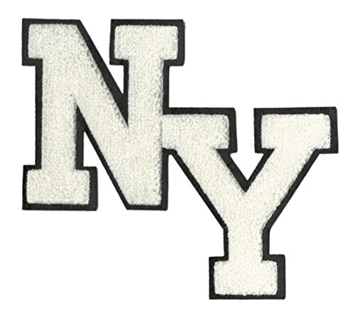 XXL Extra Large Cute Chenille NY New York Shirt Patch 20c...