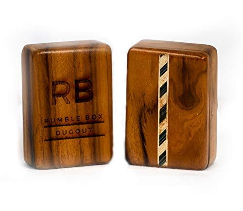 Inlaid Wooden Box - Side Swivel Inlaid Wood Rumble Box