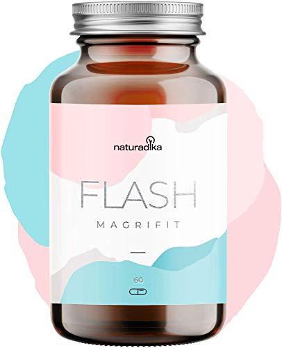 🥇 Magrifit Flash – Quemagrasas Potente Y Rapido Para Adelgazar – Quemagrasa – Adelgazante – Pastillas Quema Grasas Muy Rapido Para Perder Peso Efectivas – Fat Burner Mujer Abdominal