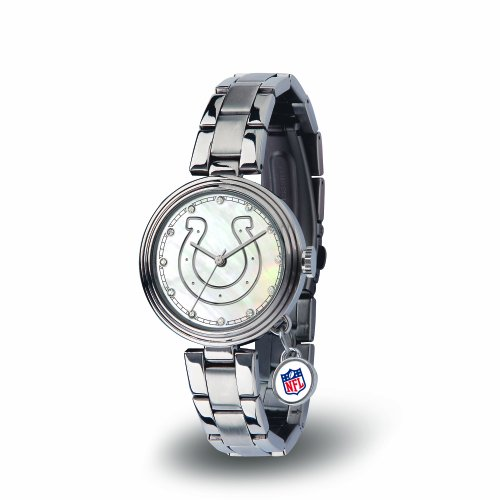 NFL Indianapolis Colts Charm Watch, Silver
