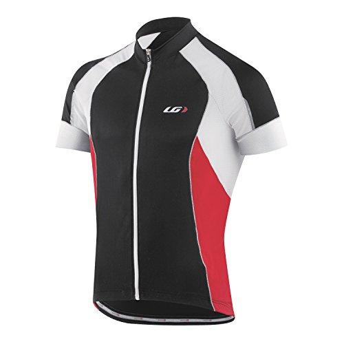 Louis Garneau Lemmon Vent Jersey - Short-Sleeve - Men's Black/Red/White, L