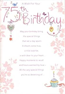 75th Birthday Greetings Cards