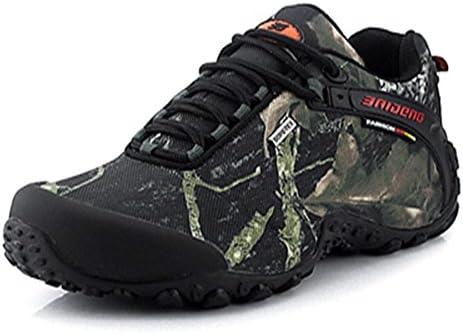 トレッキングシューズ 防水 防滑 登山靴 四季通用 メンズ ハイキングシューズ アウトドアスニーカー オシャレ グレー 25.0CM