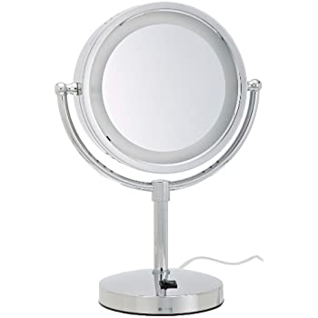 Amazon Com Jerdon Hl9510n 8 Inch X 10 Inch Oval Lighted
