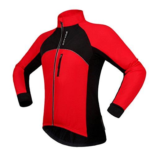 ただ許可する再生的SONONIA ポリエステル製 サイクリング ジャケット アウトドアスポーツ ソフト シェル サーマル フリース  スポーツウェア  防水性 全5サイズ