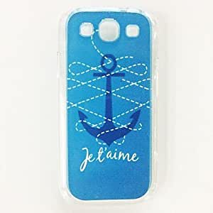 JOE Anchor Pattern Plastic Hard Case for Samsung Galaxy S3 I9300 , Multicolor
