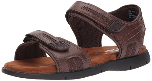 Nunn Bush Mens Rio Grande Two Strap River Sandal Tan