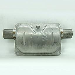 Eberspacher Espar heater exhaust silencer muffler - 24mm | 251864810100